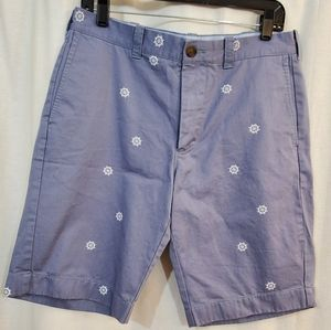 "J. Crew Rivington 11"" Printed Chino Shorts 33"